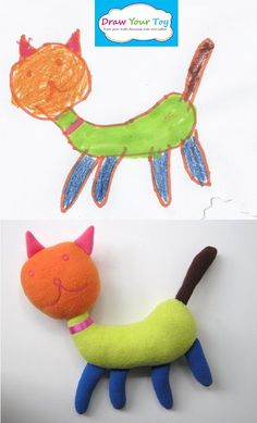 Draw Your Toy- toy from your kid's drawing! You will love it!