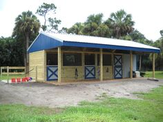 Woodys Barns: Listed in Horse Barn Construction Contractors in Saint Cloud, Florida - Like the style not the color so much