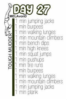 Tough Mudder Workouts