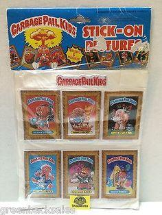 (TAS006763) - Garbage Pail Kids Stick-On Pictures