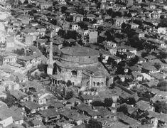 Selanik Rotonda Camii | Eski Türkiye Fotoğrafları Arşivi Transportation Services, Thessaloniki, Paris Skyline, City Photo, Greece, Europe, Island, Istanbul, History