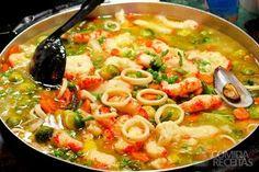Bobó de camarão tradicional