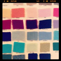 Cashmere colors #grantkgibson