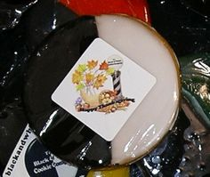 Black And White Cookies, Happy Thanksgiving, Panna Cotta, Ethnic Recipes, Food, Happy Thanksgiving Day, Dulce De Leche, Essen, Meals