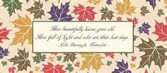 Fall Quotes and Sayings - Yahoo Image Search Results
