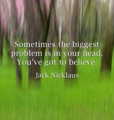 Jack Nicklaus | Golf | Master's | Inspiration