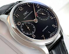 IWCポルトギーゼ オートマティック 7デイズ IW500109 黒 -IWC時計コピー