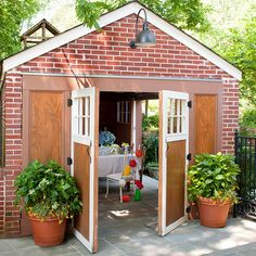 If you have a detached garage that doesn't see much use, consider transforming it into an entertaining pavilion: http://www.bhg.com/home-improvement/garage/ideas-inspiration/utilize-your-garage/?socsrc=bhgpin060314garagerenovation&page=1
