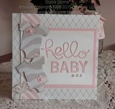 Stampin' & Scrappin' with Stasia: Zebra Onesies