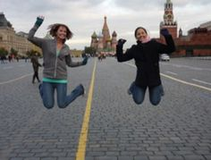 Truman State Students in Moscow   http://www.studyabroad101.com/programs/truman-state-university-moscow-study-abroad-at-the-grint-center #studyabroad101 #jumpintostudyabroad