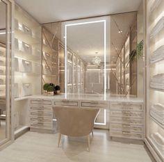 Luxury Bedroom Design, Luxury Rooms, Room Design Bedroom, Home Room Design, Dream Home Design, Luxury Interior Design, Bathroom Interior Design, Luxurious Bedrooms, Modern House Design