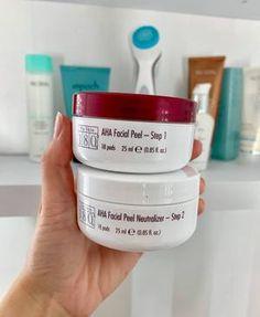 180 AHA Facial Peel Face Treatment, Body Treatments, Ageloc Galvanic Spa, Spa Website, Beauty Hacks Skincare, Chemical Peel, Beauty Packaging, Anti Aging Skin Care, Face Wash