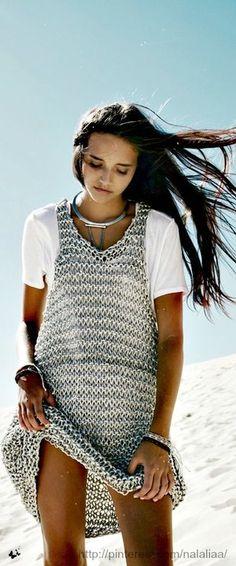 Что вязать летом. Часть 3. Самые стильные вязаные платья. 18 фото-идей | Записки вязальщицы | Яндекс Дзен