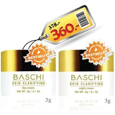 Free shipping !!! Baschi Skin Clarifying Day 3 g.   Night 3 g. -- Details can be found by clicking on the image.