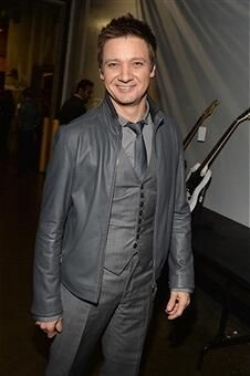 Jeremy Renner at the Grammys - January 26, 2014