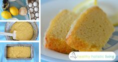 Gluten-Free Lemon Pound Cake with Maple Syrup, 3 Types of Coconut and No Dairy at All - Healthy Holistic Living