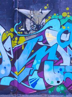 Graffiti Owl on the streets of Bushwick - Neighborhood Colors - Nalata Nalata