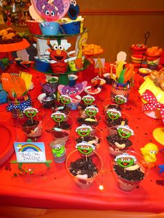 Sesame Street Birthday Party Ideas | Photo 19 of 76 | Catch My Party