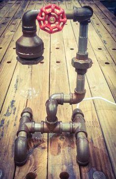 Galvanized Pipe Lamp