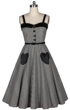 50s pinup swing dress polkda dots 2013942 [2013942] - £34.99 : Queen of Holloway, Dressing Shop