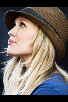 Hilary Duff rocks the hat. Simple look to amp up your spring style. Watch the new series YOUNGER coming to TV Land March 31 10/9C! From the creator of Sex and The City, 'Younger' stars Sutton Foster, Hilary Duff, Debi Mazar, Miriam Shor and Nico Tortorella. Catch a sneak peek at http://www.tvland.com/shows/younger.