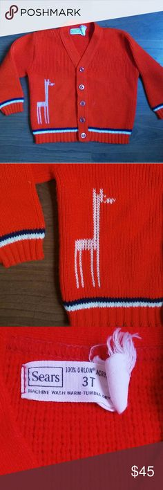 Spotted while shopping on Poshmark: Vintage giraffe sweater! #poshmark #fashion #shopping #style #Vintage #Other