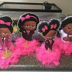 Ebony Meyers added a photo of their purchase Baby 1st Birthday, 3rd Birthday Parties, Denim And Diamonds, Girl Baby Shower Decorations, Boss Baby, Baby Party, Girl Shower, Pink Girl, Pink Bows