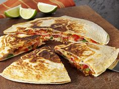 Quesadillas with Tracklements Cucumber and Pepper Relish #Tracklements #Mexican #Cucumber #Peppers