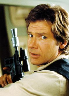 Harrison Ford as Han solo in Star Wars VI - Return of the Jedi (1983)