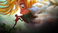 João e o Pé de Feijão ganham vida na animação Gigantic
