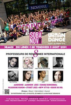 Sobanova Urban Dance Nîmes 2014. Be there !