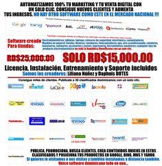 Software de AutoPublicación para vender electrodomésticos al extremo. Whatsapp: 1-849-318-7581