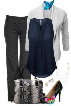 89+ Stylish Work Outfit Ideas for Spring & Summer 2020 | Pouted.com  <br> What should I wear to work in the spring and summer seasons? After the fall and winter seasons, we think that we will not ask this question. This is Stylish Work Outfits, Summer Work Outfits, Basic Outfits, Business Casual Outfits, Office Outfits, Work Casual, Office Attire, Casual Office, Fashionable Outfits