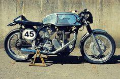 Norton  Es 2 (Café Racer) 500 cc -  1963