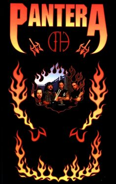 Pantera Band, Vinnie Paul, Band Posters, Movie Posters, Dimebag Darrell, Band Wallpapers, Heavy Metal Music, Thrash Metal, Metallica