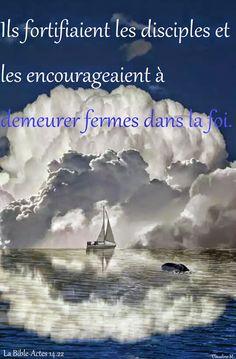 Fortifions-nous les uns les autres, et encourageons-nous à rester fermes dans la foi.....                                        *   *  *              Un p'tit bonjour, un grand sourire à chacun. :-))  Claudine Michau - Google+