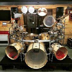 Custom Pearl Drum Kit