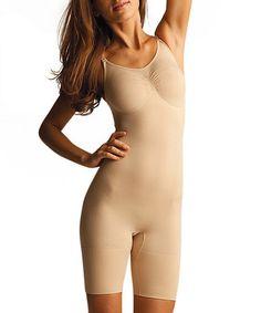 8712a3f1a54fd SlimMe by MeMoi Nude Firm-Compression Full Shaper Bodysuit - Women   Plus