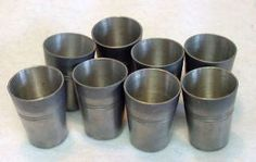 antique pewter shot glass - Google Search