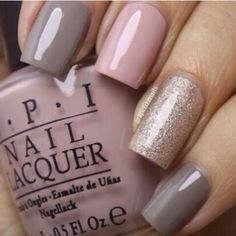 Grey pink and gold