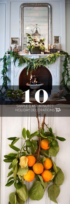 10 Simple And Beautiful Last Minute Holiday Decor Ideas