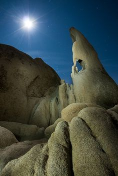The Moon, the Sky, and the Wizard's Eye - Joshua Tree National Park, USA