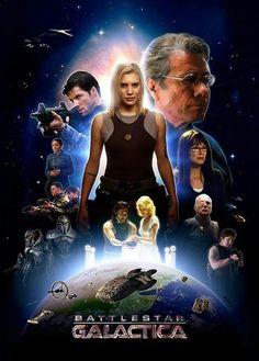 Battlestar Galactica - Starbuck front & center