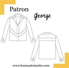 Blouse George Patron