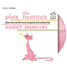 Pink Panther Soundtrack LP on Pink Vinyl for Record Store Day, Saturday, April 19th, 2014!