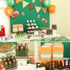 Football Themed Birthday Party Ideas For Boys Photo 6