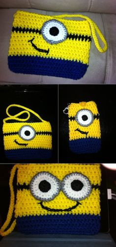 Crochet Minion Purse – DIY