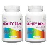 White Kidney Bean Extract-Metabolism Booster- 1000mg Per Serving, 200 Capsules, 90 Day Supply, Carb Blocker and Appetite Suppressant, (Holiday Weight Loss Supplements) Pack Of 2 - Why Pick Genetic Solutions White Kidney Bean?   Made exclusively for the savvy supplement shopper, our White Kidney Bean Extract is maximally dosed at 1,000mg per serving, and at 2 servings per day, one bottle will last a full 50 days. We guarantee the potency and purity of all our products, and...
