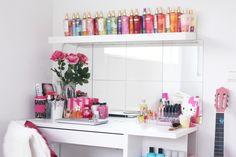 repisa para perfumes
