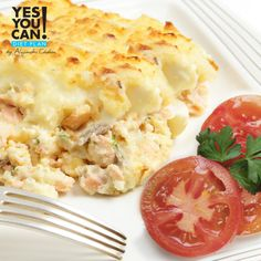 Yuca Pastelón with Chicken - A healthy option for your Yes You Can! Diet Plan lunch
